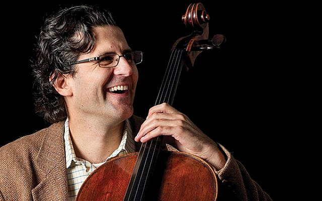Amit Peled, founder of the Mt. Vernon Virtuosi, with his cello. Courtesy Amit Peleda