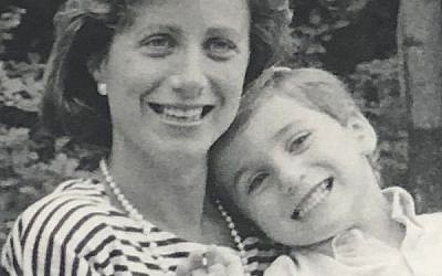 The author's mother-in-law, Debby Yarmush, with her son Gaby when he was young.