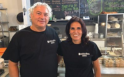 Marty and Ronit Weber have owned The Green Chicpea in Newark since 2013. Photos by Jed Weisberger