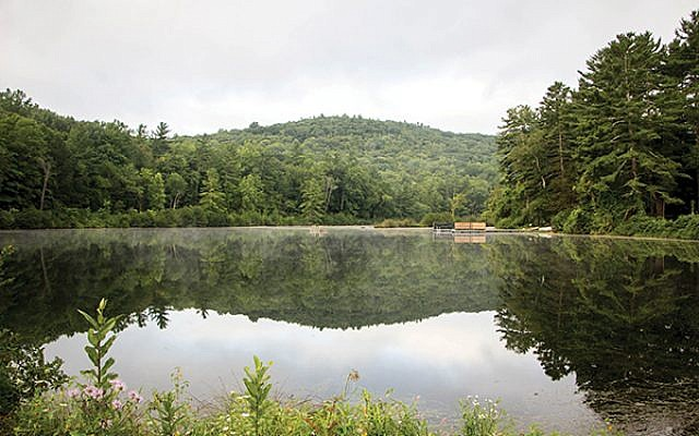 Lake Miriam at Isabella Freedman Jewish Retreat Center. Courtesy of Hazon