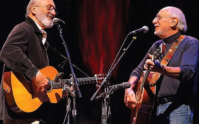 Peter Yarrow, right, with Noel Paul Stookey