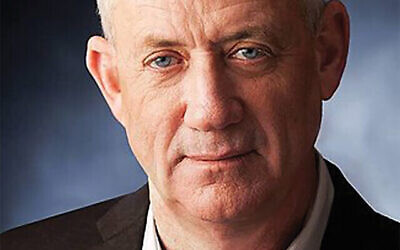 Luring the pragmatic Shas party could pay dividends for Benny Gantz. Getty Images