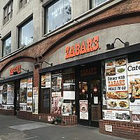 """Zabar's, a temple of smoked fish, condiments and gourmet cheese, has long been associated with the archetypical """"New York Jew."""" But like the neighborhood surrounding it, the city's Jewish community is changing. Wikimedia Commons"""