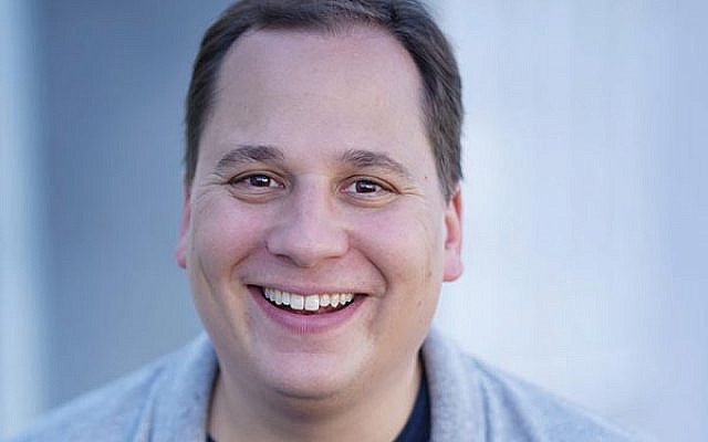 "Toms River native Jared Gertner stars in the Axelrod Performing Arts Center's production of ""Guys and Dolls."""