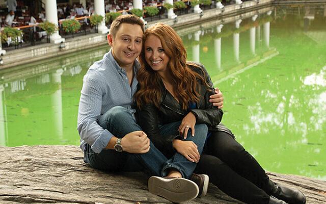 A.J. Ribakove and Samantha Silverman