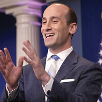 Stephen Miller, a White House senior policy advisor, now accused of having ties to white nationalist groups.