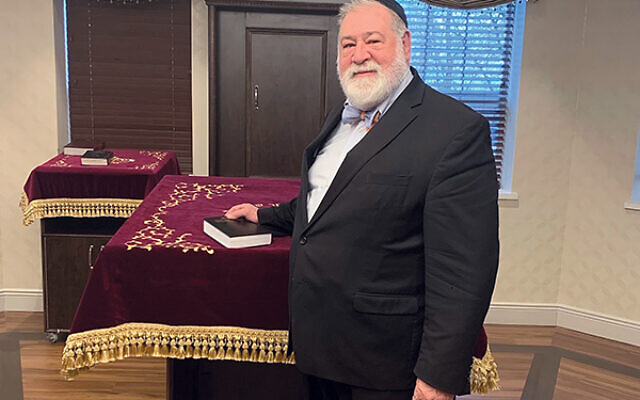 Rabbi Nathan Langer said one of his primary goals in his position at the Freehold Jewish Center Congregation Agudath Achim is to attract young members to the synagogue.