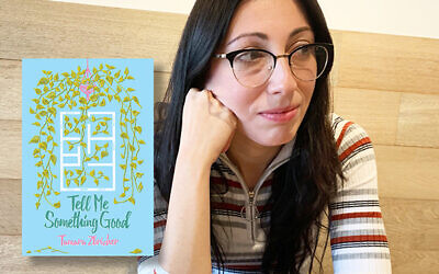 """Poet Tamara """"Toma"""" Zbrizher bridges her many identities — Ukrainian, American, Jewish — in her poetry. Zbrizher's first book, """"Tell Me Something Good,"""" was published in the spring. Photo by Johanna Ginsberg"""