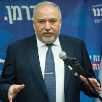 Yisrael Beiteinu leader Avigdor Lieberman is trying to break Orthodox control of lifecycle events. Getty Images