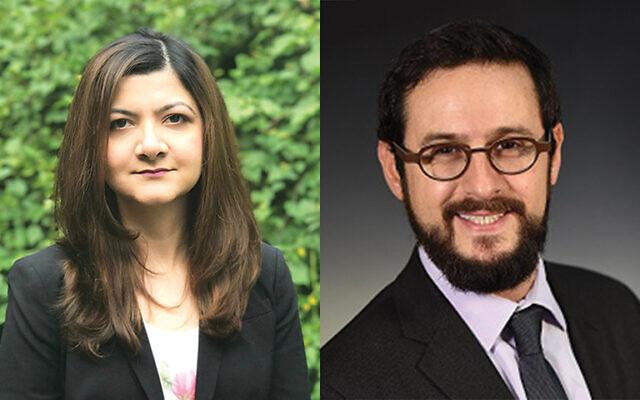 Natalia Mahmud and Dr. Ari Gordon