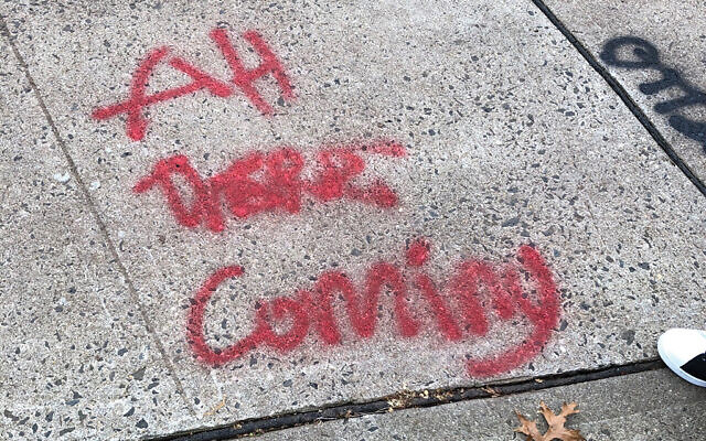 Authorities assured members of the Highland Park Jewish community that the two teens charged responsible for the graffiti had no bias intent. Photos courtesy Mason Resnick Photography