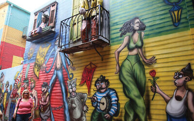 From the tango hall to street art: Scenes from Buenos Aires. Photos by Fred Green