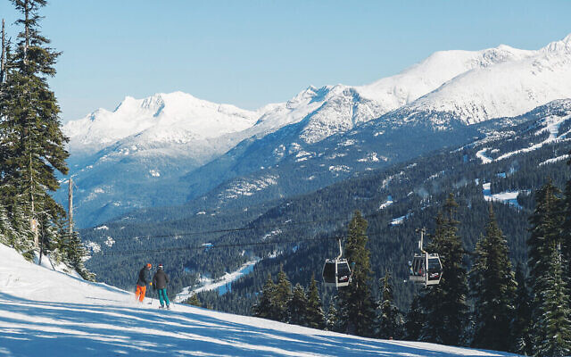 The Four Seasons Resort Whistler, in the mountains of British Columbia, is a top ski spot. Photos courtesy of Pesach on the Mountain