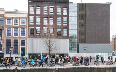 The Anne Frank House, part of the city's mixed legacy of tolerance and hatred. Wikimedia Commons
