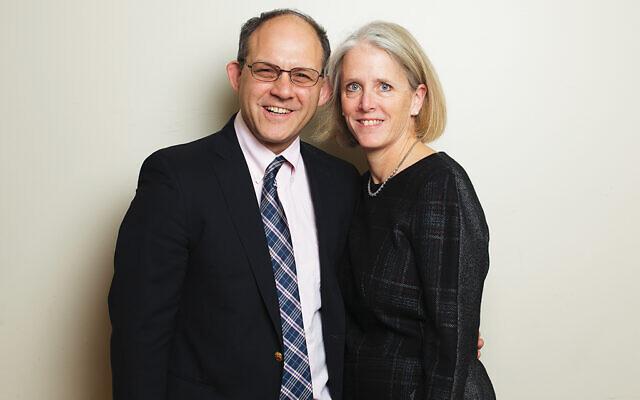 Roz and Jonathan Engel