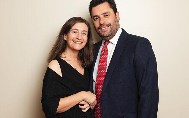 Lori and Adam Katzman