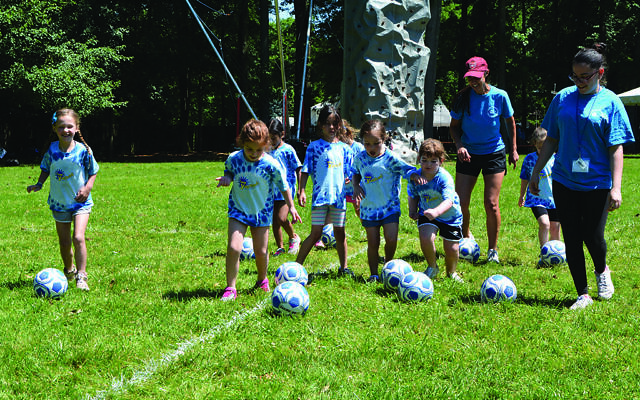 An anonymous group of donors is offering the JCC of Central New Jersey a matching grant to bolster programs for children with special needs such as those at Camp Yachad. Photo courtesy JCC of Central New Jersey