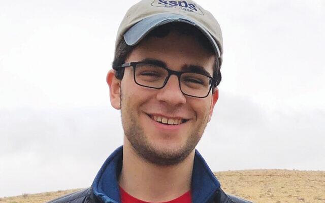 Rutgers freshman Sam Lurie, a Golda Och Academy graduate, is a delegate on the MERCAZ USA slate. Photo Courtesy Sam Lurie