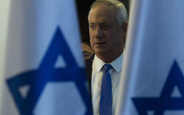 President Reuven Rivlin tasked Benny Gantz and his centrist Blue and White party with forming a government. Amir Levy/Getty Images