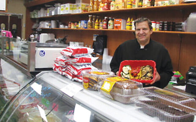 """We're just trying to hang in right now,"" Rye Deli owner Hal Robinson said about kosher restaurants. NJJN file photo"