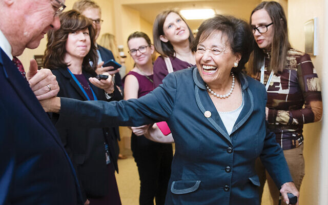Rep. Nita Lowey on Capitol Hill last October. Photo by Tom Williams/CQ-Roll Call, Inc via Getty Images