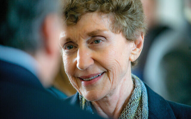 Ruth Mandel was director of Rutgers University's Eagleton Institute and its Center for American Women and Politics. Photo Courtesy Maud Mandel