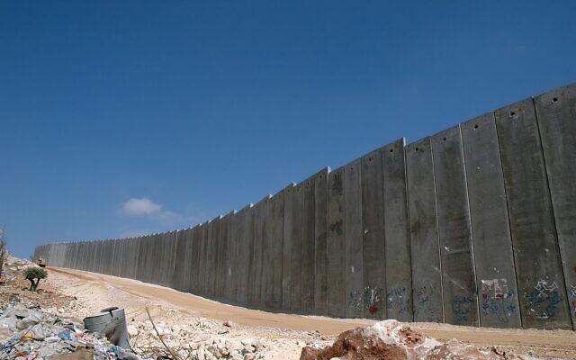 Israeli West Bank Barrier. Wikimedia