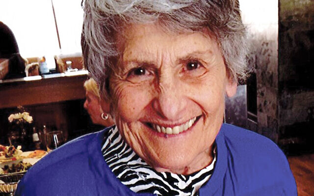 Maxine Myers, who died in April, gave generously of her time to local causes.  Courtesy Jewish Federation of Greater MetroWest NJ