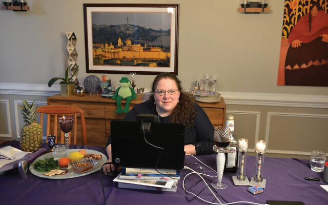 "Rabbi Melinda Panken of Temple Shaari Emeth in Manalapan said that given the circumstances, multiple synagogues collaborating on joint online study programs could provide people the opportunity ""to really dig in"" on Torah study."