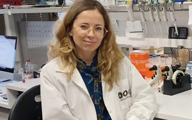 Dr. Natalia Freund. Photo courtesy of Tel Aviv University