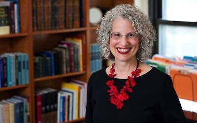 Dr. Shuly Rubin Schwartz, who is set to become the eighth chancellor of the Jewish Theological Seminary. Ellen Dubin Photography