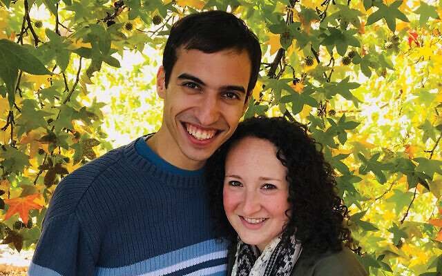 Founders of Shabbat-o-Grams, Ben Zauzmer and Rabbi Shayna Golkow. Courtesy Shayna Golkow