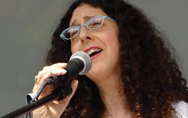Mara Levine, singer of songs extolling social activism