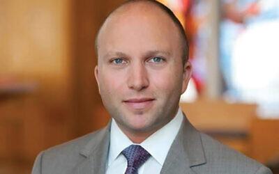 Rabbi Ari Isenberg will assume on Aug. 1 spiritual leadership of Congregation B'nai Israel in Millburn. Photo Courtesy Rabbi Ari Isenberg