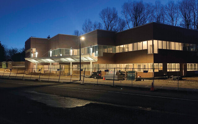 The new JSDD building in Livingston is almost finished.
