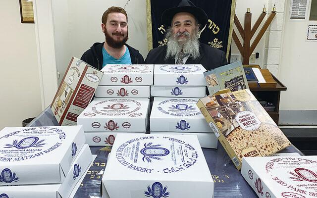 Mendy Kanelsky and his father, Rabbi Mordechai Kanelsky. (Courtesy Bris Avrohom)