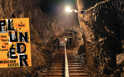 "This is one of the Silesian mystery tunnels that Menachem Kaiser explored as he researched his book, ""Plunder."" (Jason Francisco)"