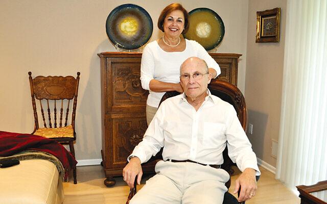 Neimah and Paul Tractenberg