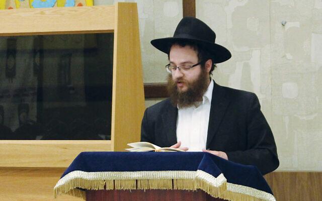 Rabbi Yechiel Kalmanson was among the speakers. (Courtesy Bris Avrohom)