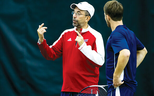 Ira Miller is scouting for 12 competitive young tennis players for the games in Israel next summer.