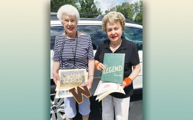 Myrna Most and Linda Forgosh (Courtesy JHS)