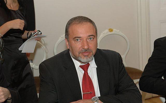 Foreign Minister Avigdor Lieberman (photo credit: Saeima)