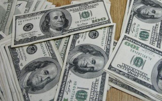 US currency (photo credit: Abed Rahim Khatib/Flash 90)