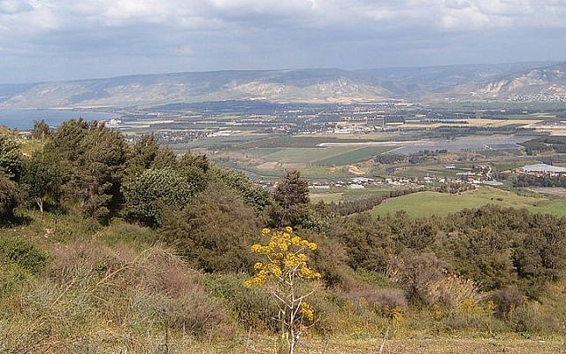 A view of the Jordan Valley (CC-BY heatkernel/Flickr/File)