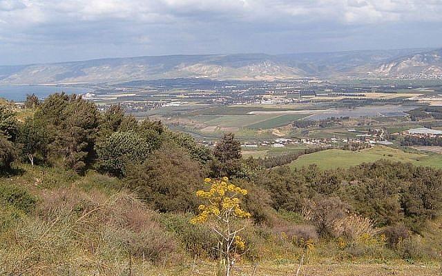 A view of the Jordan Valley (photo credit: heatkernel)