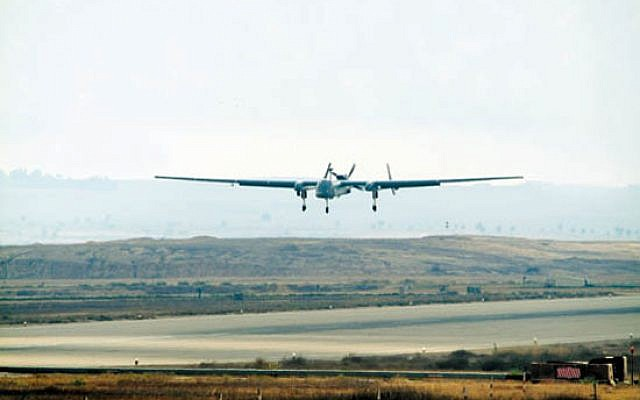 File: Illustrative photo of a drone (photo credit: IDF Spokesperson)