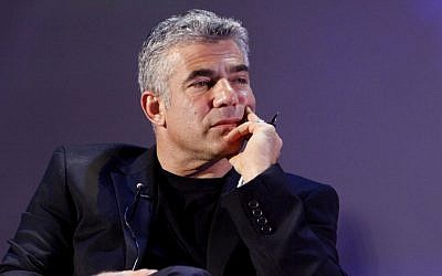 Yair Lapid (photo credit: Miriam Alster / FLASH90)
