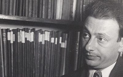 Gershom Scholem (photo credit: Gershom Scholem archive, ARC. 4° 1599/38-39, Archives Department, The National Library of Israel)