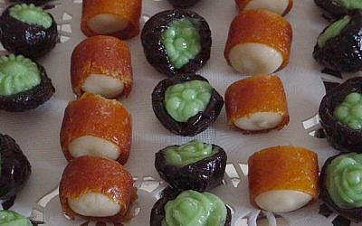 Judith Zer-Aviv's marzipan confections (photo credit: Courtesy)