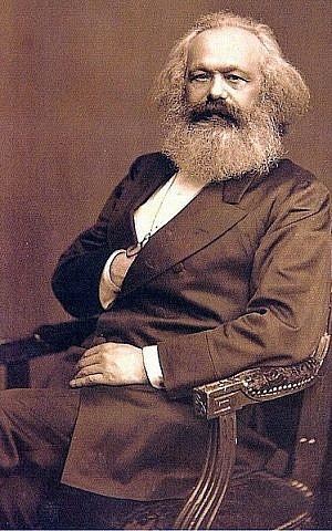 Karl Marx (photo credit: International Institute of Social History, Wikimedia Commons)